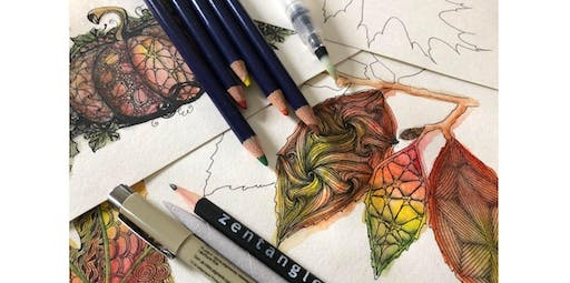 Zentangle: Express-O Yourself! (2019-11-24 starts at 2:00 PM)