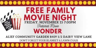 Free Alief Family Movie Night