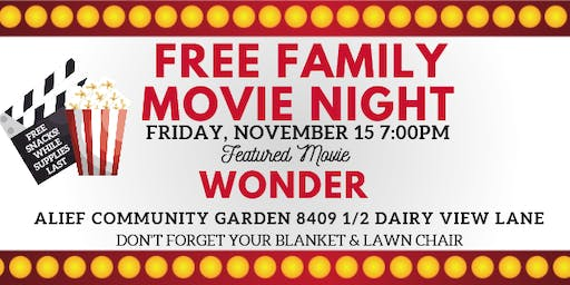 Free Alief Family Movie Night