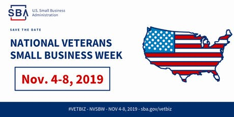 National Veteran Small Business Week: Connect w/ Local Customers on Google tickets