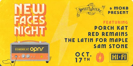 NEW FACES NIGHT: PORCH KAT, RED REMAINS, THE LATIN FOR MAPLE, SAM STONE tickets