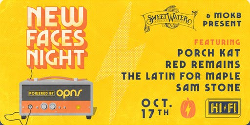 NEW FACES NIGHT: PORCH KAT, RED REMAINS, THE LATIN FOR MAPLE, SAM STONE