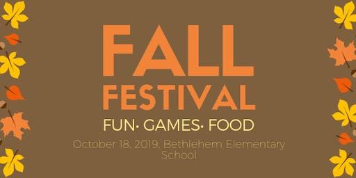 Bethlehem Elementary School Fall Festival