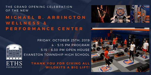 The Michael B. Arrington Wellness & Performance Center Celebration