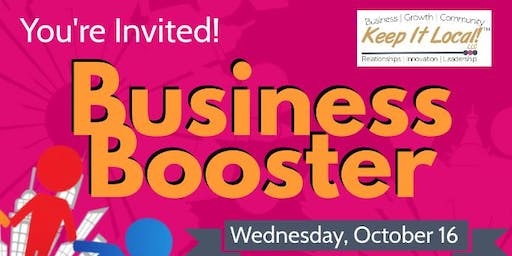Networking:  Business Booster Event!