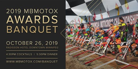 Manitoba Motocross Awards Banquet 2019 tickets