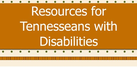 Resources for Tennesseans with Disabilities tickets