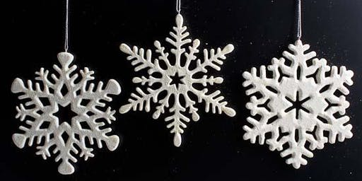 Holiday Ceramic Ornament Workshop with Helena DeJong