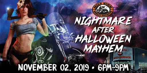 Nightmare After Halloween Mayhem Party