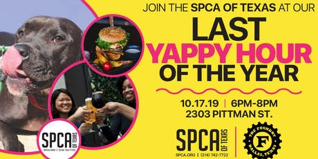 Yappy Hour: Happy Hour for Animal Lovers tickets