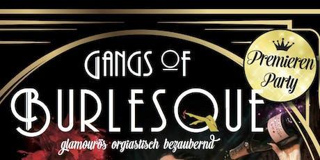 Gangs of Burlesque Premieren Party billets