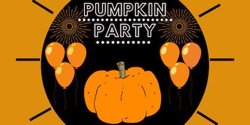 Teens Halloween Pumpkin Party