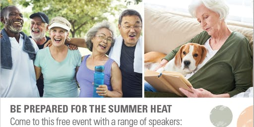 Get Set for Summer -  be prepared for the summer heat