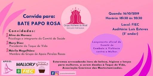 Bate Papo Rosa   Reunião Geral Grupo Mulheres do Brasil Fortaleza