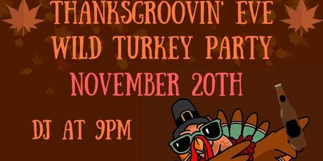 Thanksgiving Eve Wild Turkey Party At The Lansdowne Pub! tickets