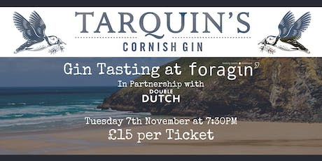 A Night with Tarquins' Gin tickets