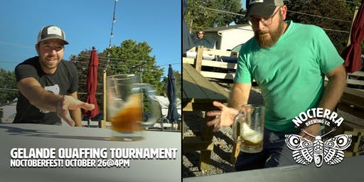Gelande Quaffing Tournament