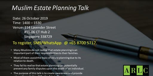 Estate Planning for Muslims
