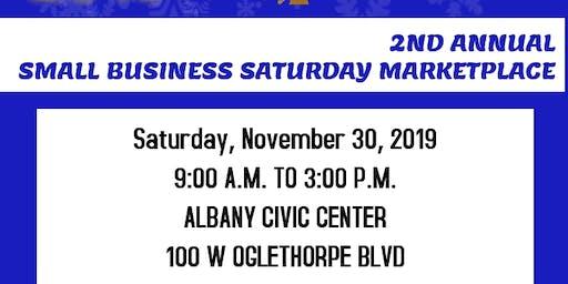 2nd Annual Small Business Saturday Marketplace Vendor Event