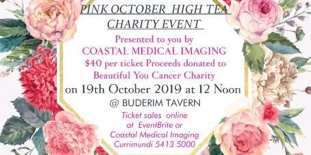 HIGH TEA CHARITY EVENT