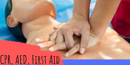 CPR, AED, with FIRST AID BLITZ - $50 - WOW!!!