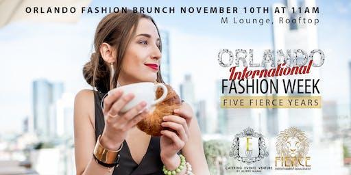 Orlando International Fashion Week -  Orlando Fashion Brunch & Show