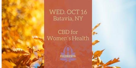 Ellementa Batavia: CBD for Women's Health tickets