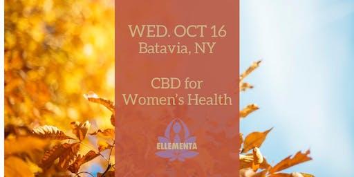 Ellementa Batavia: CBD for Women's Health