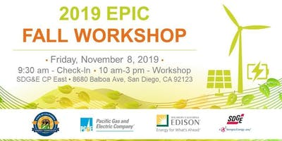 2019 EPIC Fall Workshop