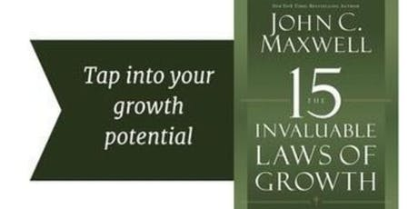 The 15 Invaluable Laws of Growth Mastermind tickets