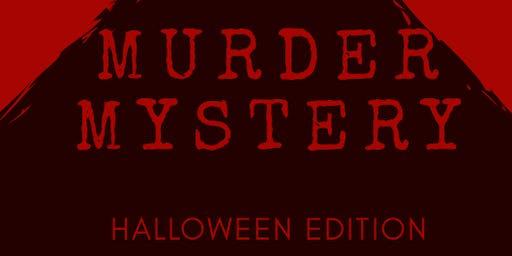 Murder Mystery Halloween Edition