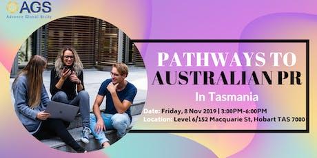 [HOBART] Update NEW visa 491 and Potential for Australian PR pathways tickets