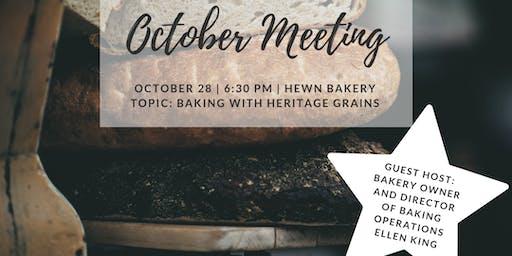 October Bread Club Meeting At Hewn