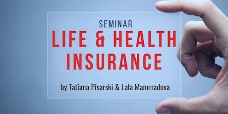 Life & Health Insurance Seminar tickets