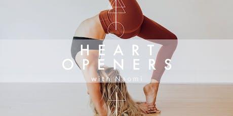 Heart Openers w. Naomi tickets