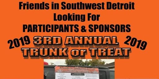Michigan Avenue Friends of Southwest Detroit - 3rd Annual Trunk or Treat!
