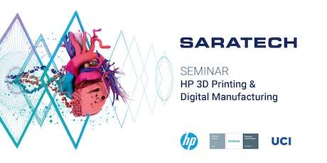 HP 3D Printing & Digital Manufacturing with Siemens Digital Industries tickets