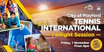 City of Playford Tennis International - Twilight Session