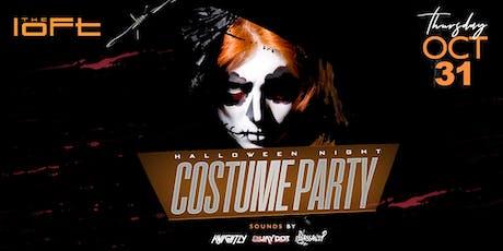 HALLOWEEN Night Costume Party @ The Loft tickets