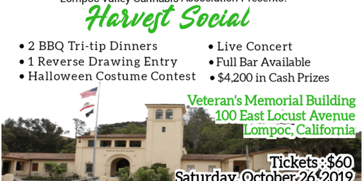 Harvest Social hosted by the Lompoc Valley Cannabis Association