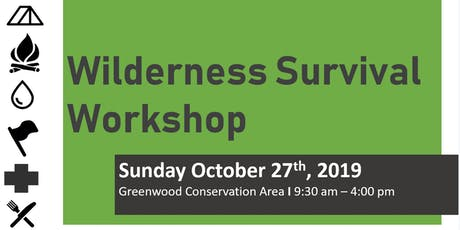 Wilderness Survival Workshop tickets