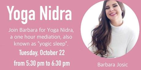 Yoga Nidra ~ $10 tickets