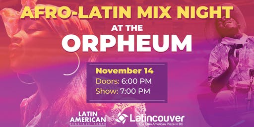 Afro Latin Mix Night