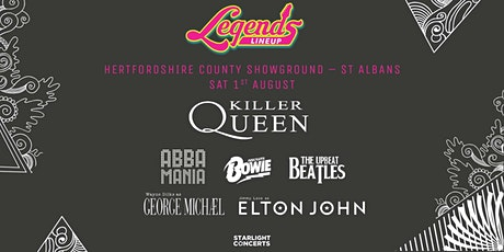 The Legends Festival - St Albans tickets