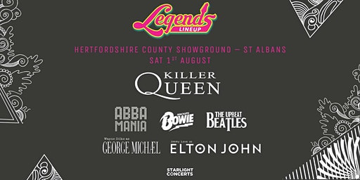 The Legends Festival - St Albans