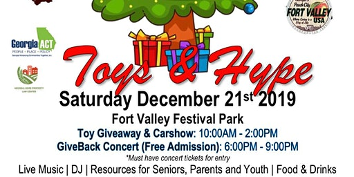 Toys and H.Y.P.E - Vets Christmas Celebration & GiveBack Concert