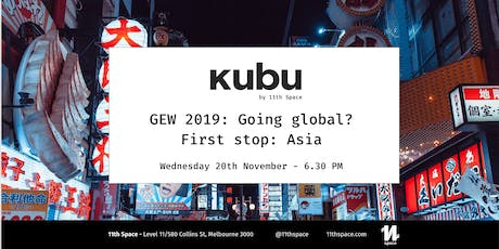 GEW 2019: Going global? First stop: Asia tickets