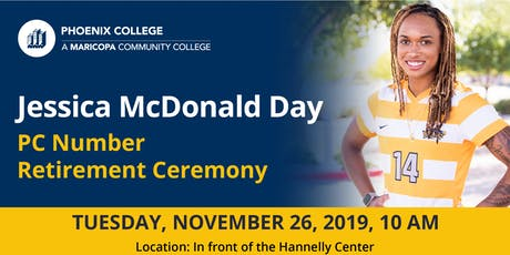 Jessica McDonald Day PC Number Retirement Ceremony tickets