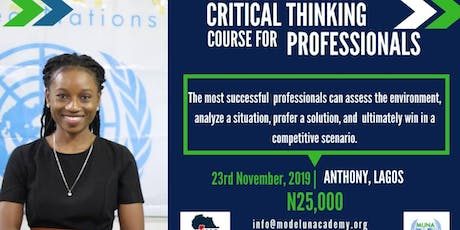 Critical Thinkng Course for Professionals - November Edition tickets