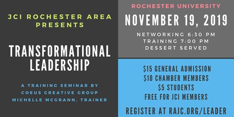 Training Seminar: Transformational Leadership tickets